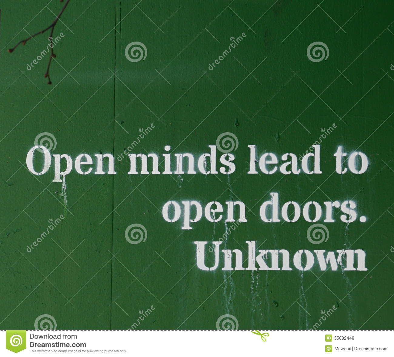 Open Mind Stock Photo Image Of Wall Open Building 55082448