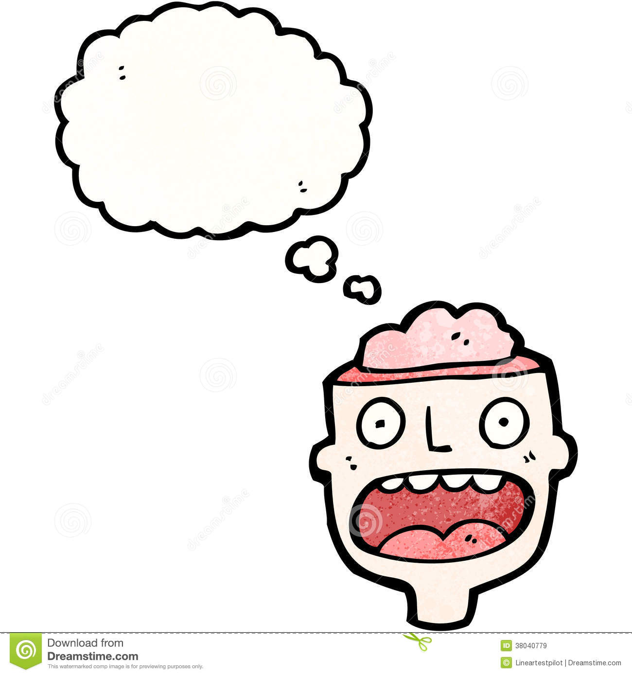Minded cartoon character royalty free stock images image 38040779