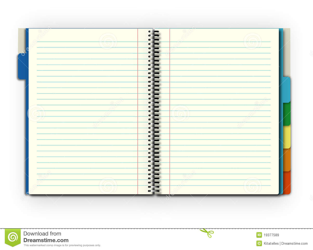 Open Notebook Royalty Free Stock Images - Image: 19377589