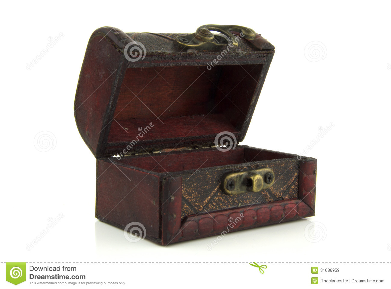 open old wooden treasure chest royalty free stock images