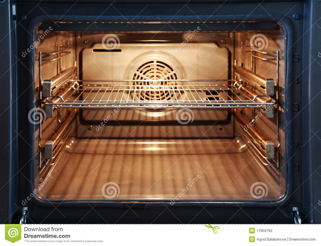 Open Oven Stock Photography - Image: 17859792