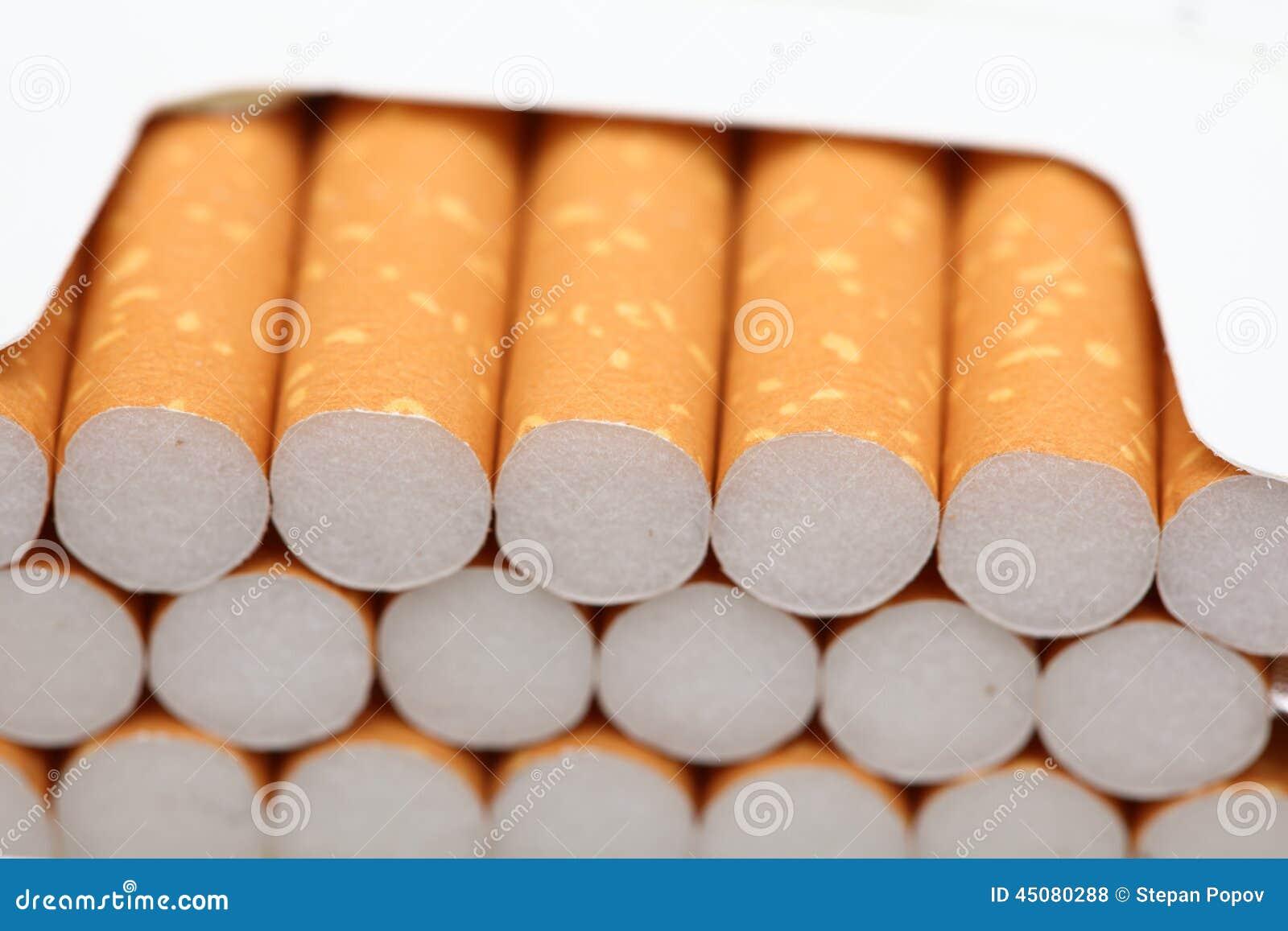 Open pak sigaretten