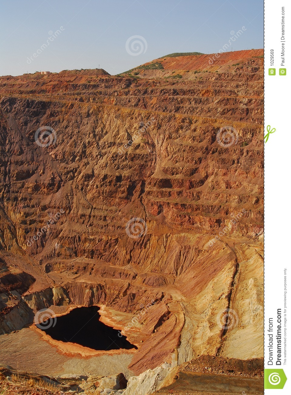 Open Pit Mine Royalty Free Stock Images Image 1029569