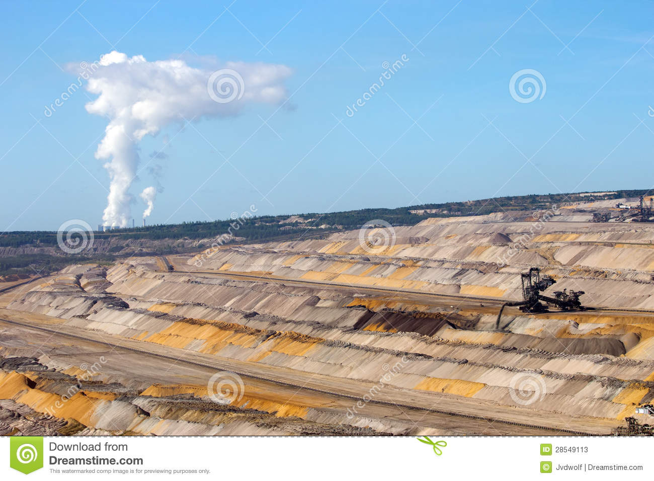 Open Pit Mine Stock Photos Image 28549113