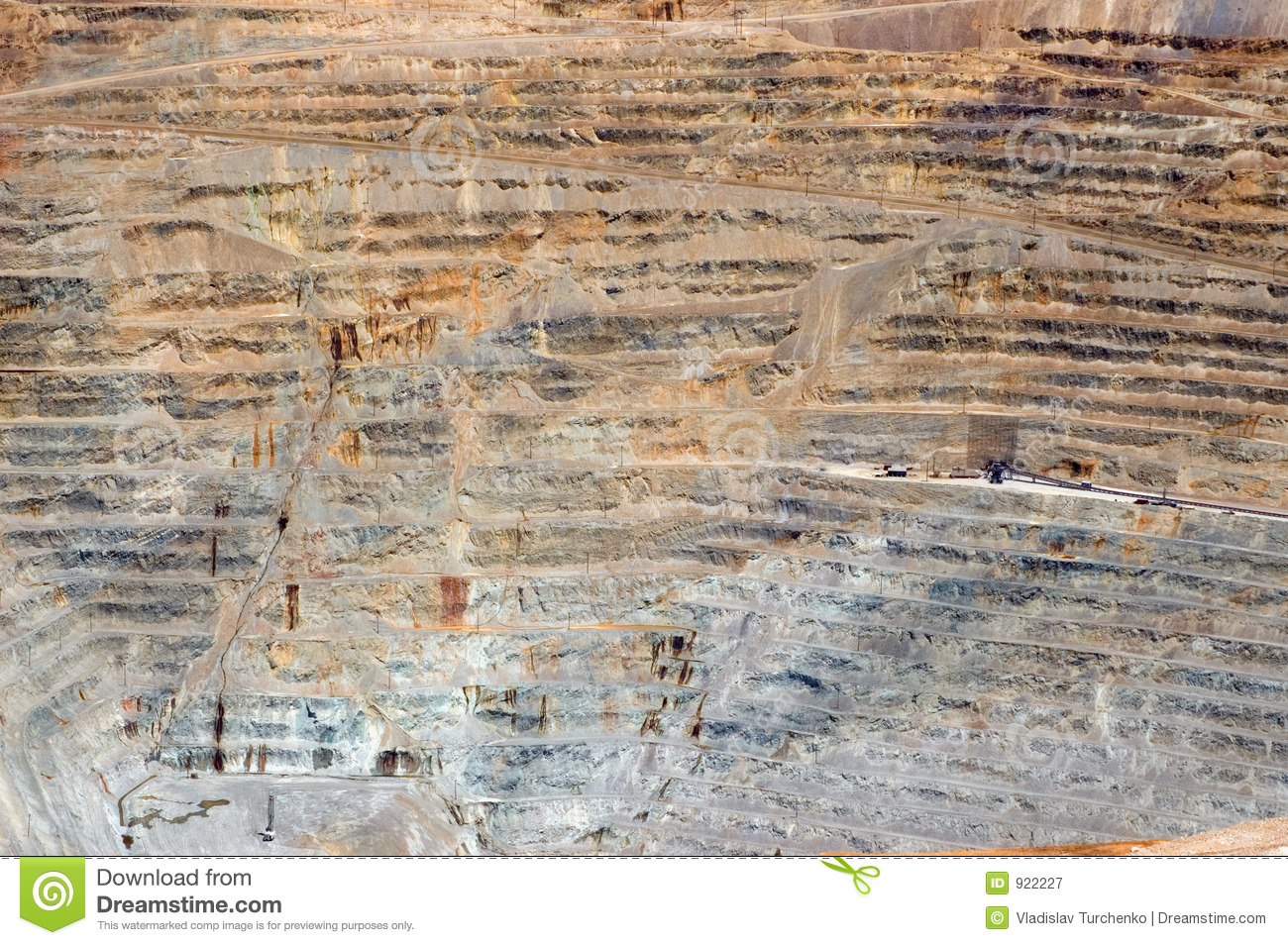 Open Pit Mine Royalty Free Stock Photography Image 922227