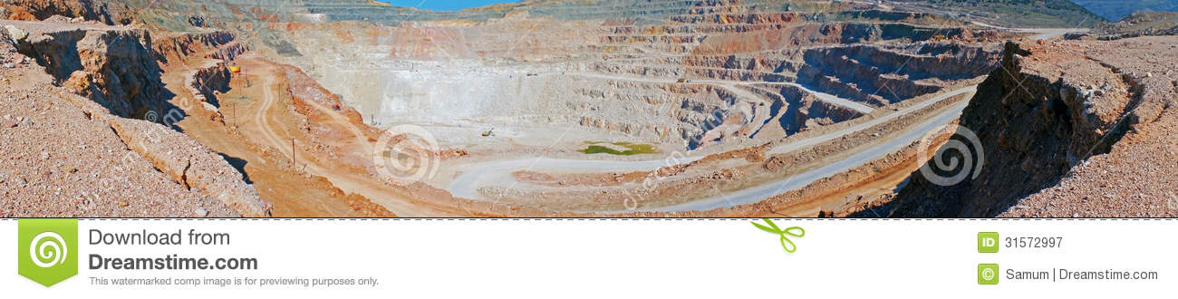 Open Pit Mine Royalty Free Stock Photography Image 31572997