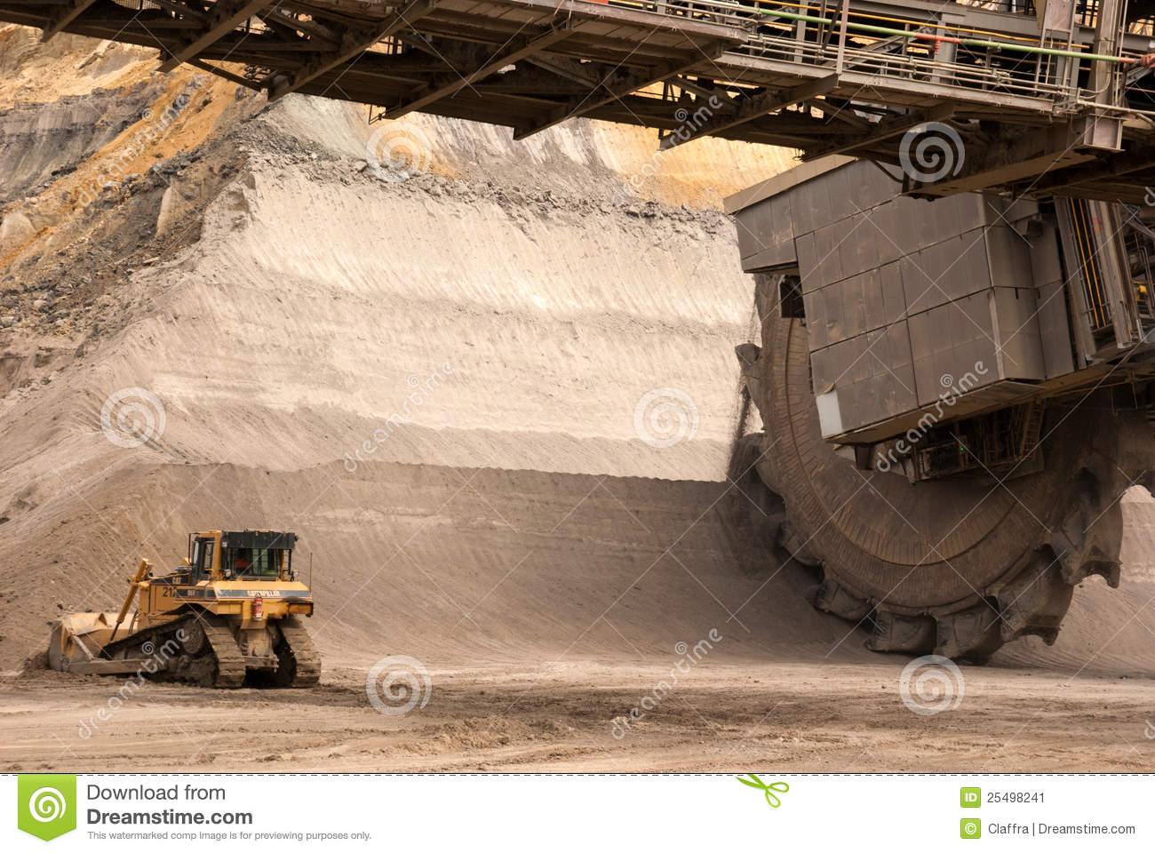 Open Pit Mine Hambach Germany Editorial Photo Image 25498241