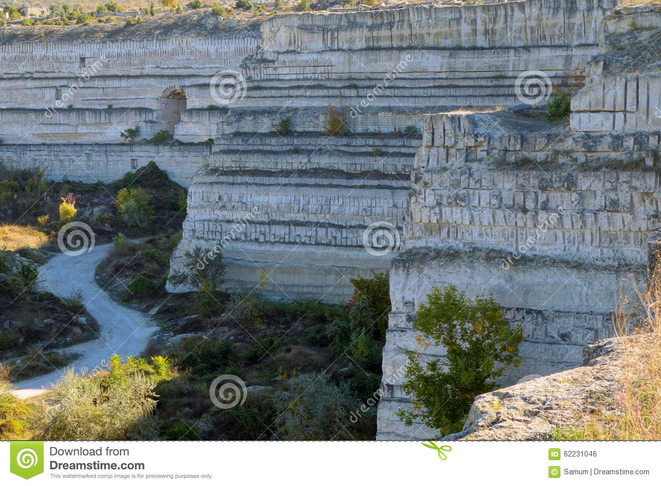 Open Pit Mine Stock Photo Image 62231046