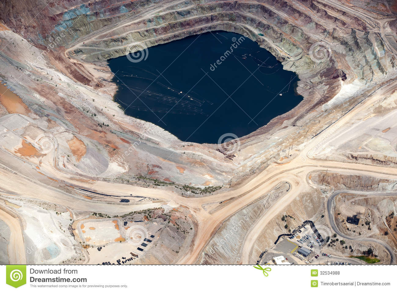 Open Pit Mining Royalty Free Stock Photos Image 32534988