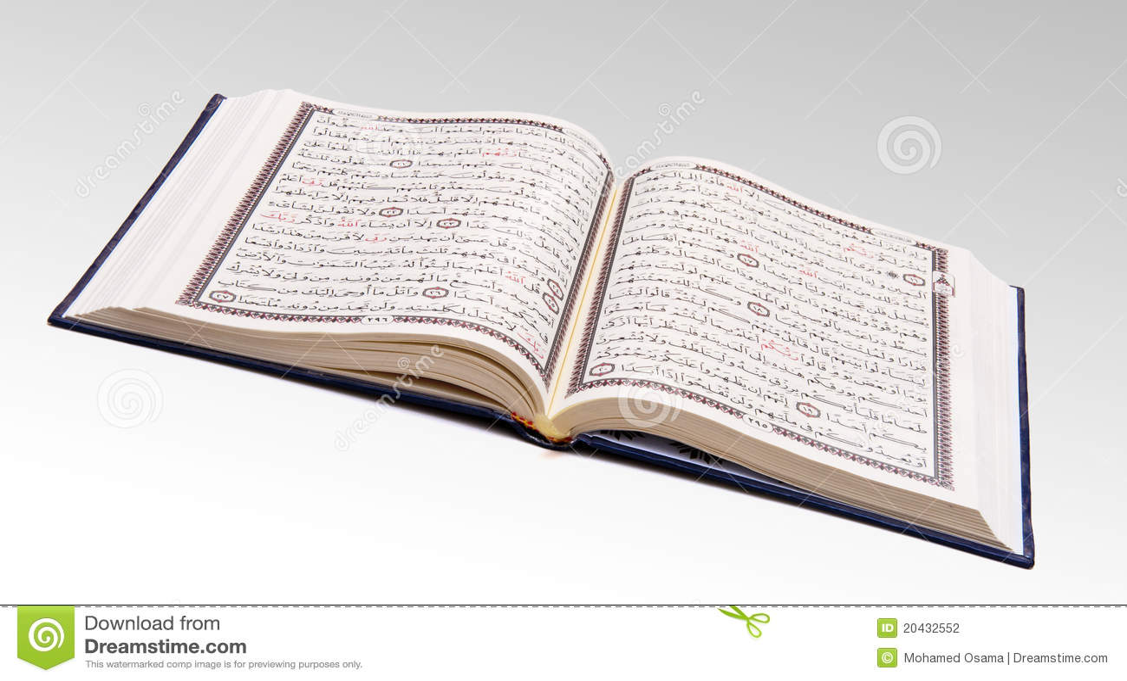 Open Quran Stock Photo...