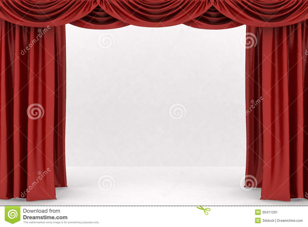 Open theater drapes or stage curtains royalty free stock image image - Open Red Theater Curtain Stock Image