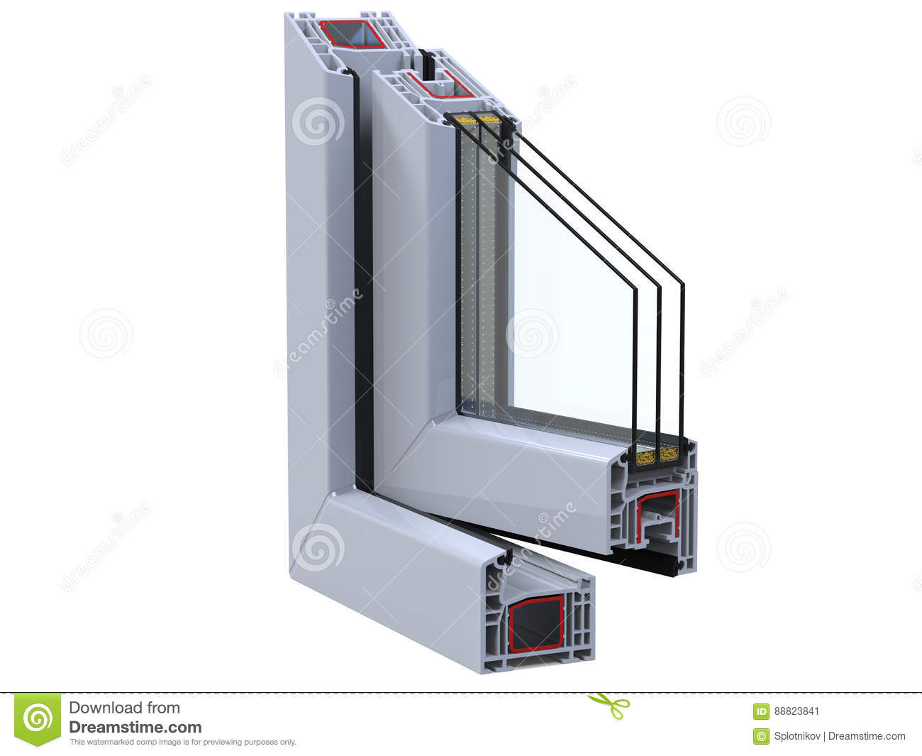 Pvc Window Section : Chloride cartoons illustrations vector stock images