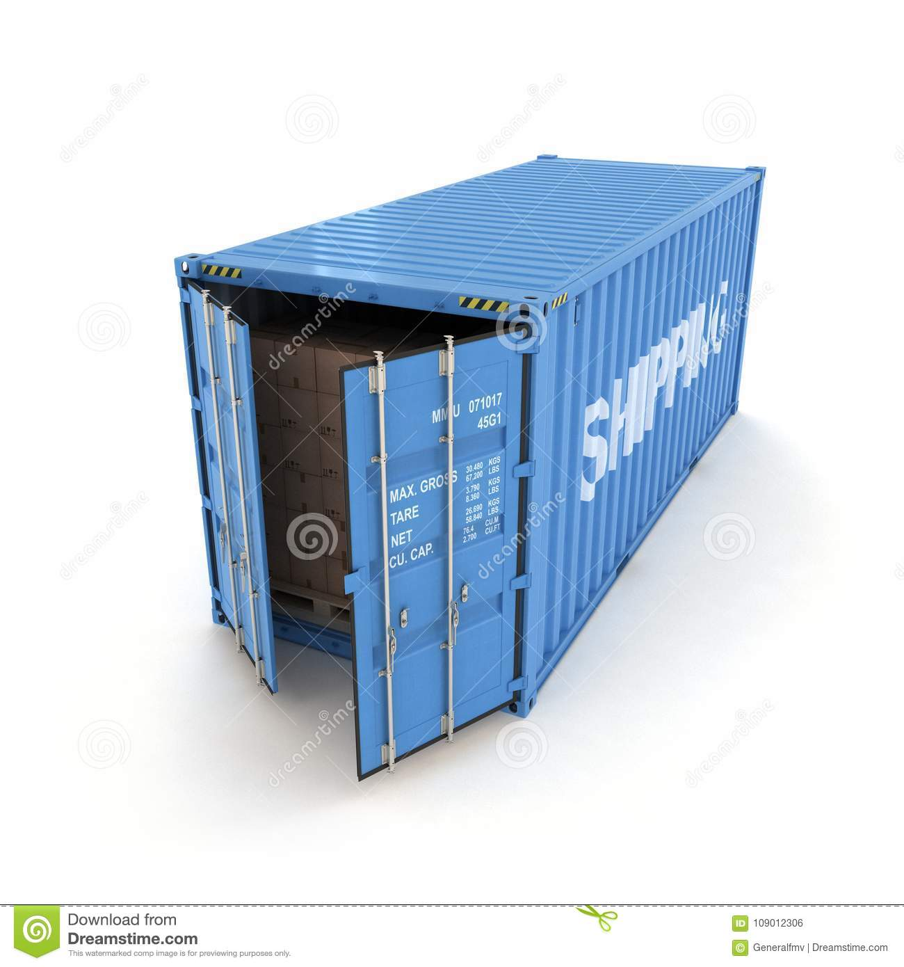 How to open shipping 6