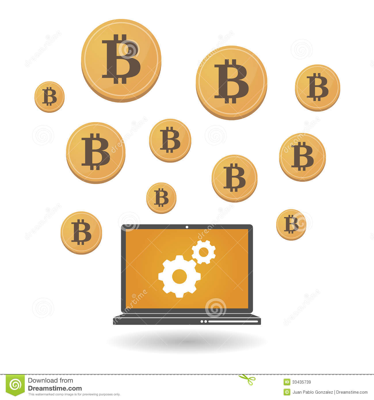 Open source money bitcoin royalty free stock images image 33435739 Open source illustrator
