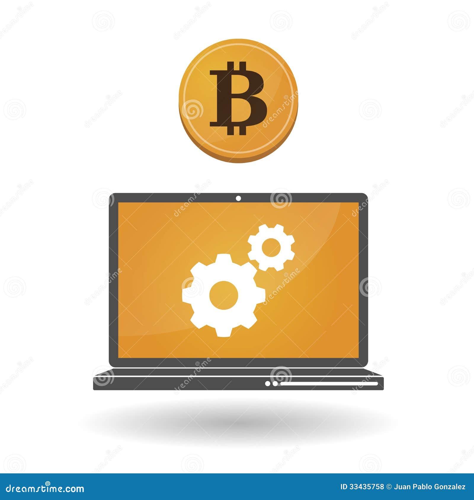 Open Source Money Bitcoin Royalty Free Stock Photos