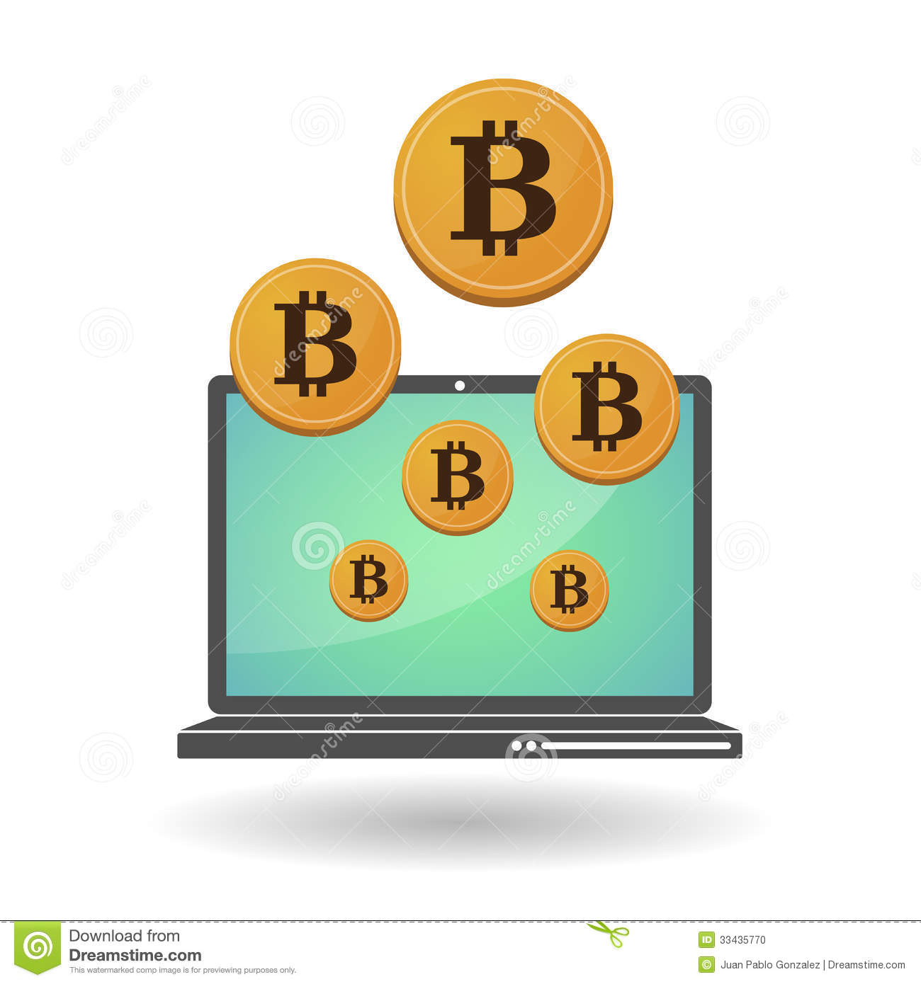 Open source money bitcoin stock photo image 33435770 Open source illustrator
