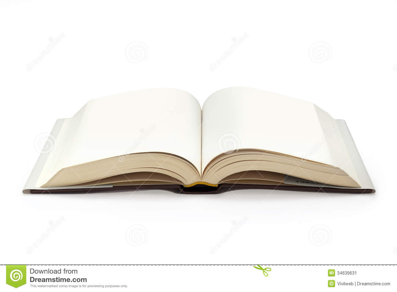 Open Textbook Stock Image - Image: 34639631