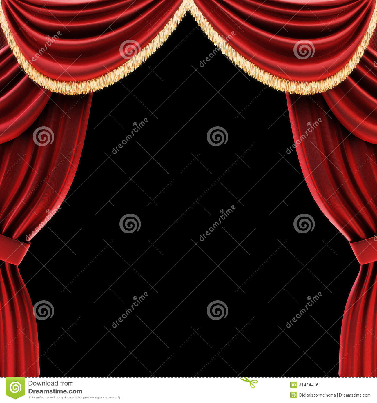 Open theater drapes or stage curtains royalty free stock image image - Royalty Free Stock Photo Black Curtains Drapes Open Stage Theater
