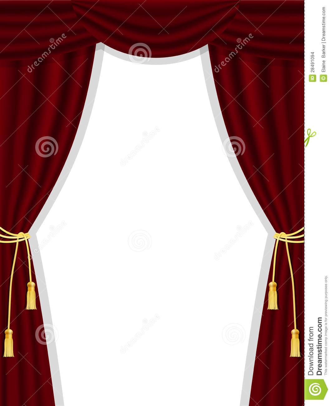 Real open stage curtains - Stage Curtains Open Open Theatre Curtains On White