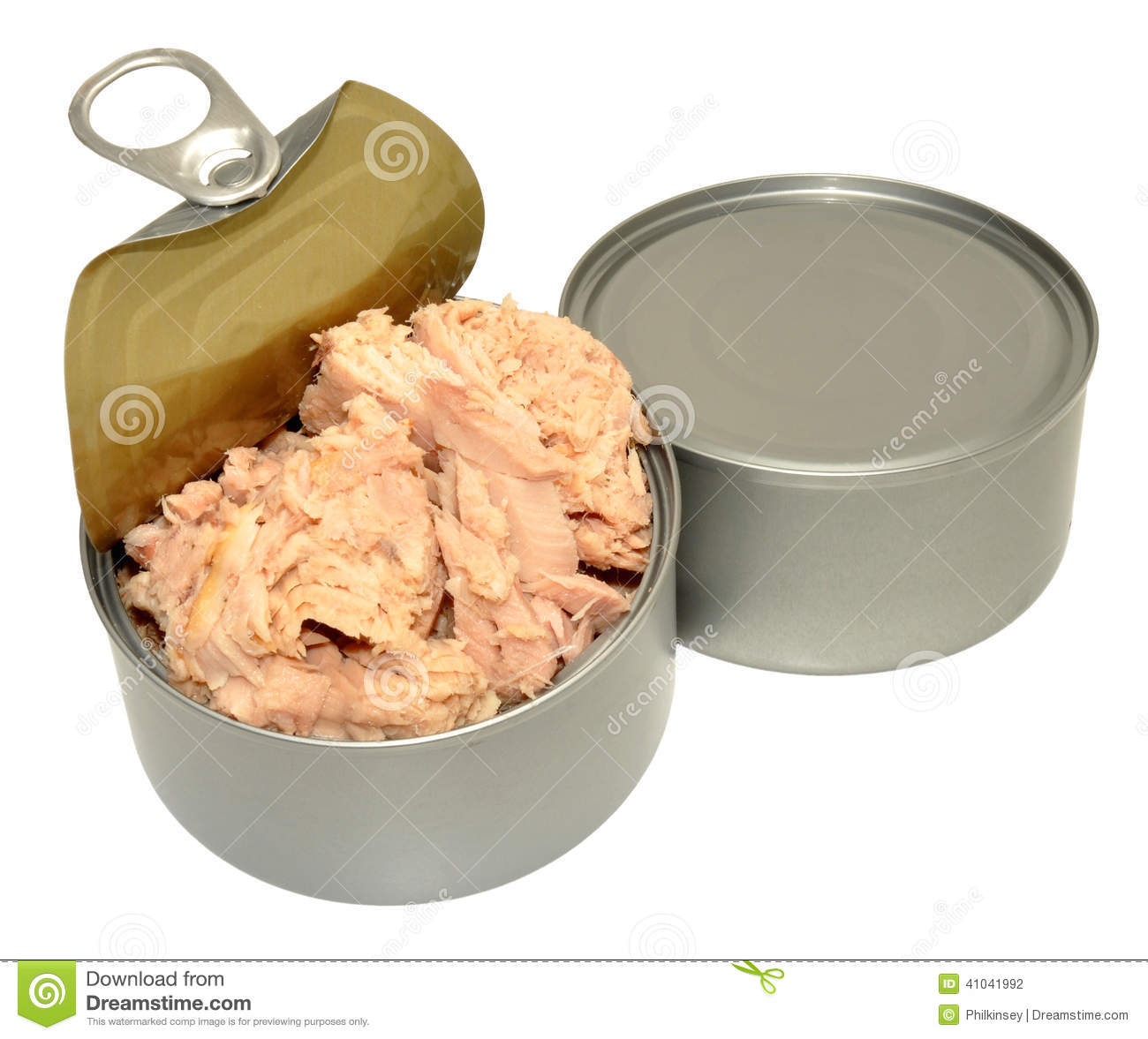 Open tin of tuna fish stock photo image of sandwich for Tuna fish can