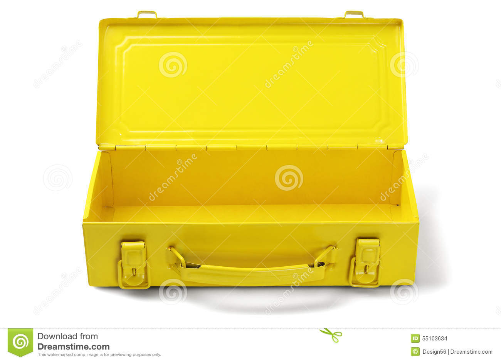 Open Tool Box Stock Ph...