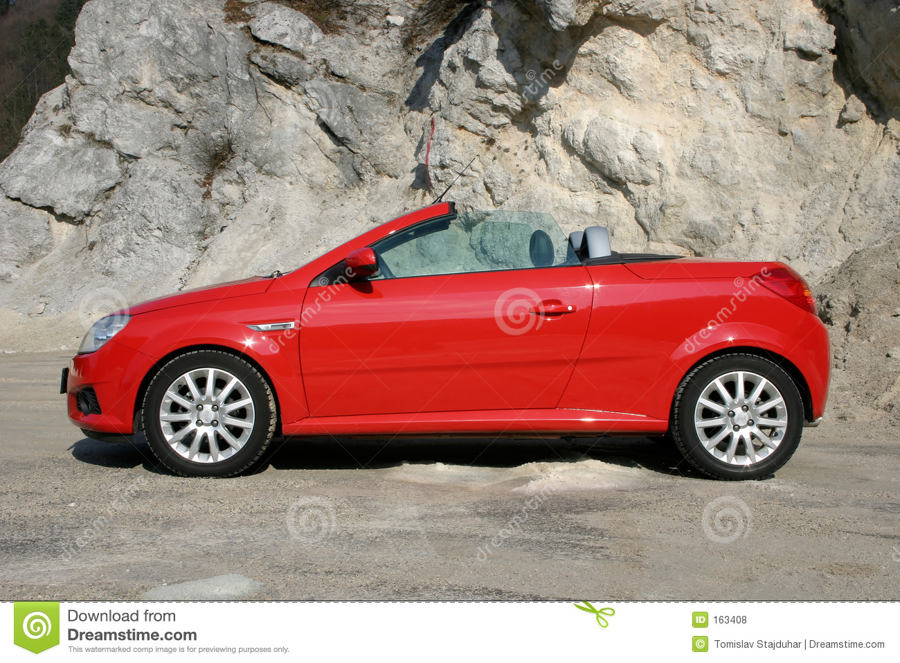 How To Sell A Car Fast >> Open top sports car stock photo. Image of coupe, abstract - 163408