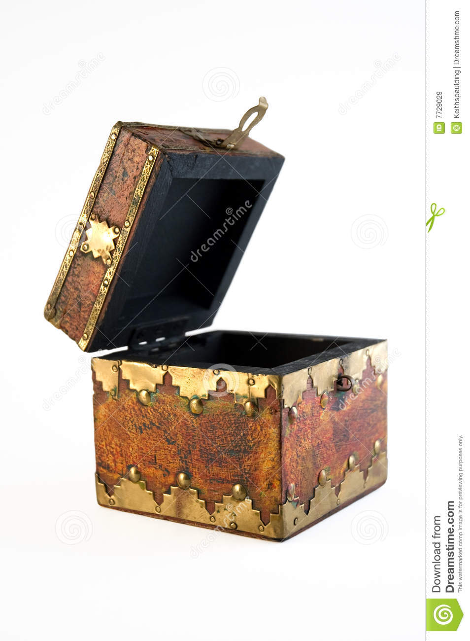 Open Treasure Chest Royalty Free Stock Images Image 7729029