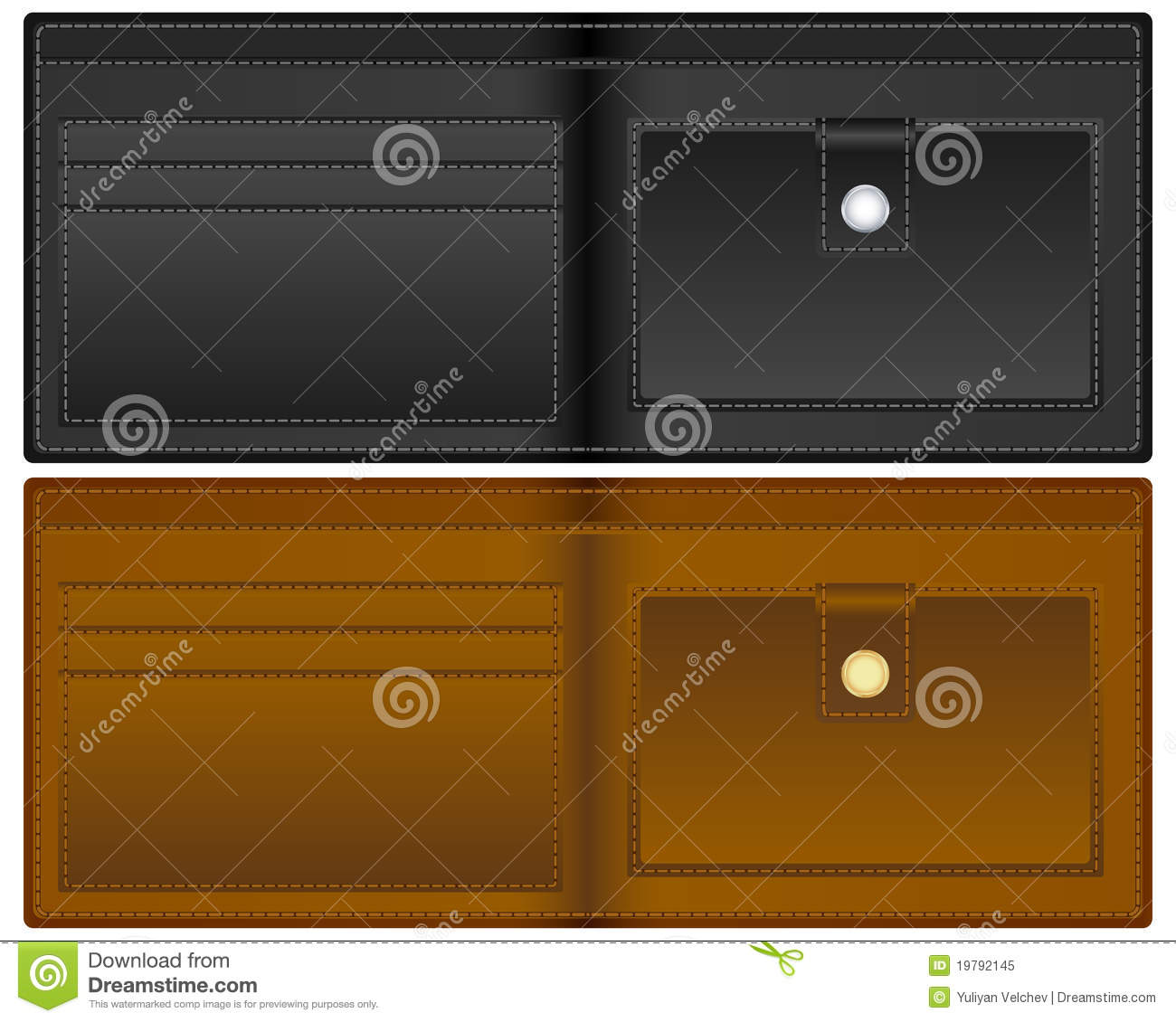 Open Wallet Royalty Free Stock Photo - Image: 19792145
