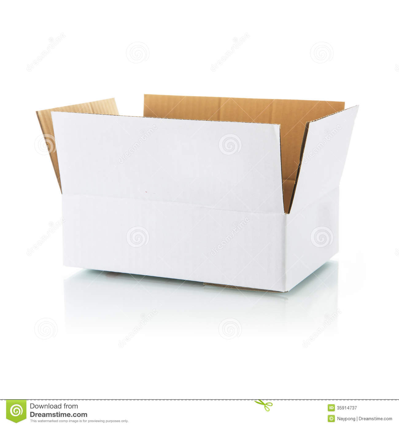 Open White Box Royalty Free Stock Photography - Image ...