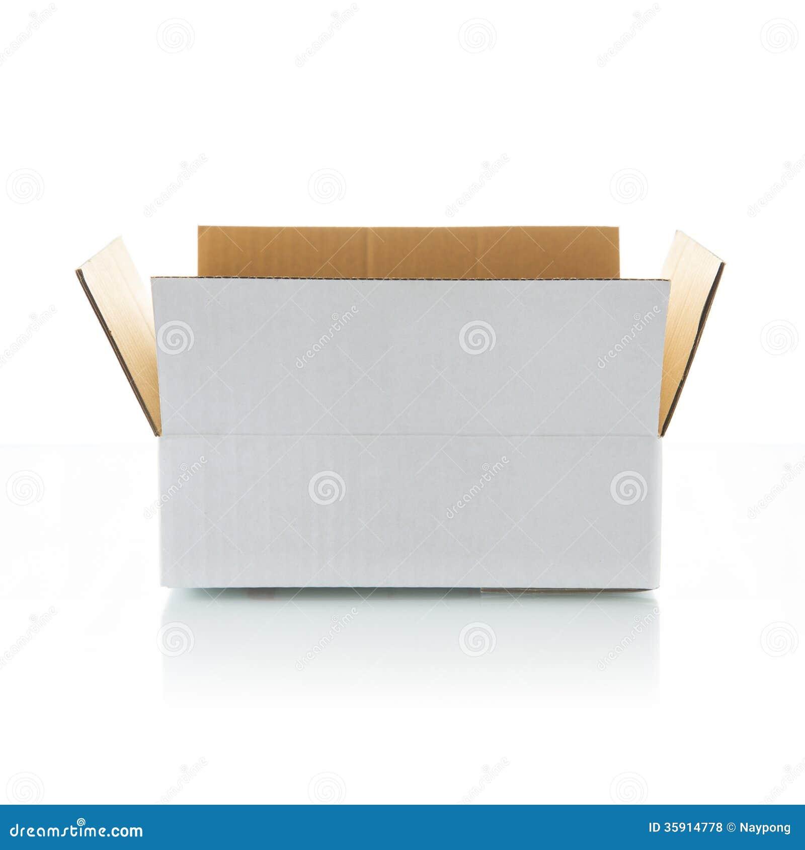 Open White Box Royalty Free Stock Photos - Image: 35914778