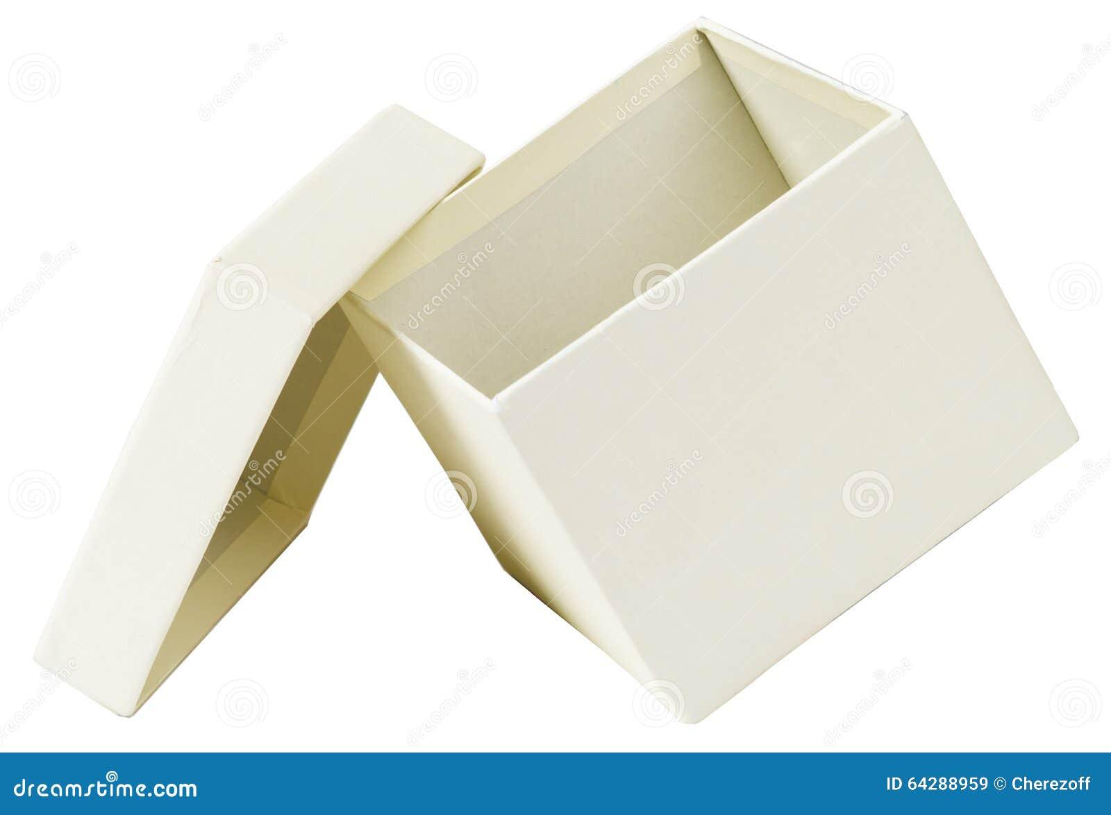 Open White Box Stock Photo - Image: 64288959