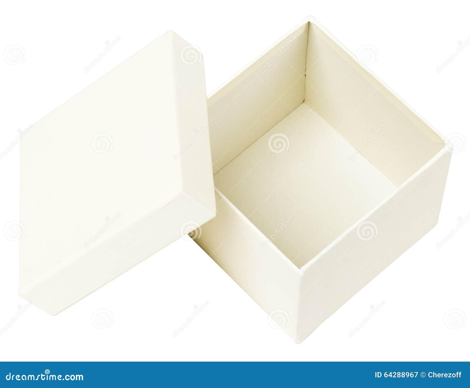 Open White Box Stock Photo - Image: 64288967