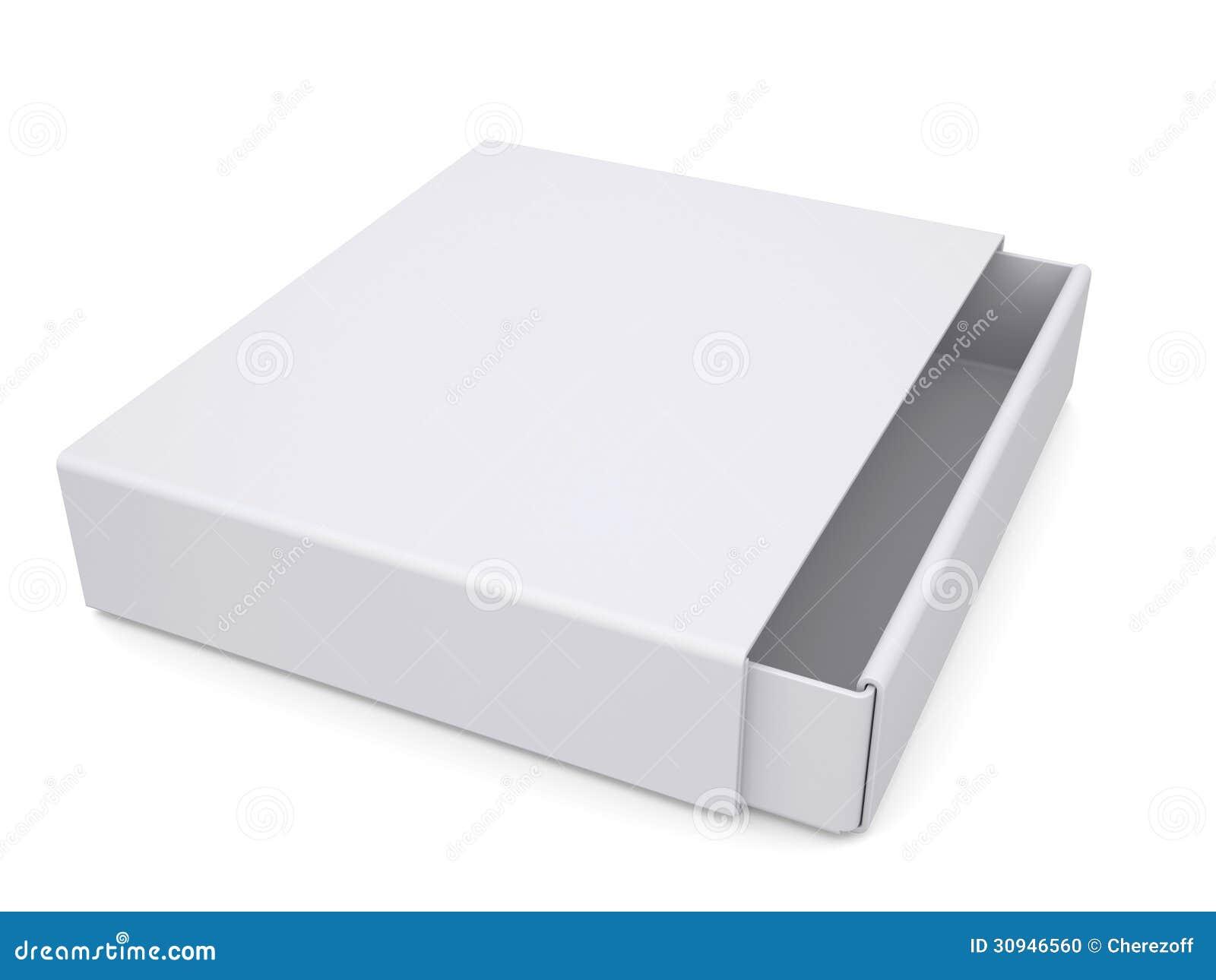 Open White Box Stock Photo - Image: 30946560