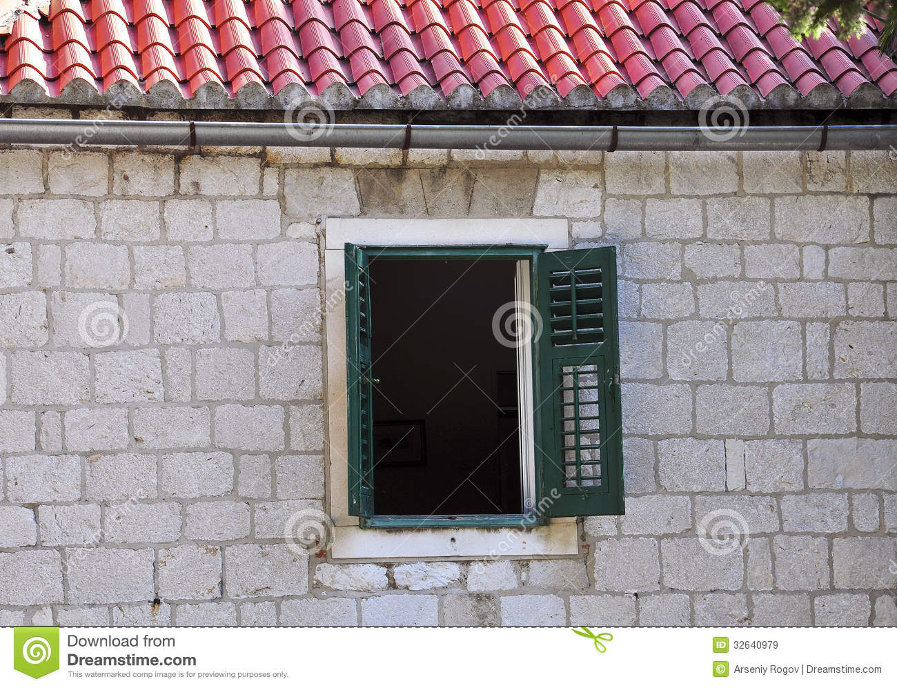 Open Window Royalty Free Stock Images - Image: 32640979
