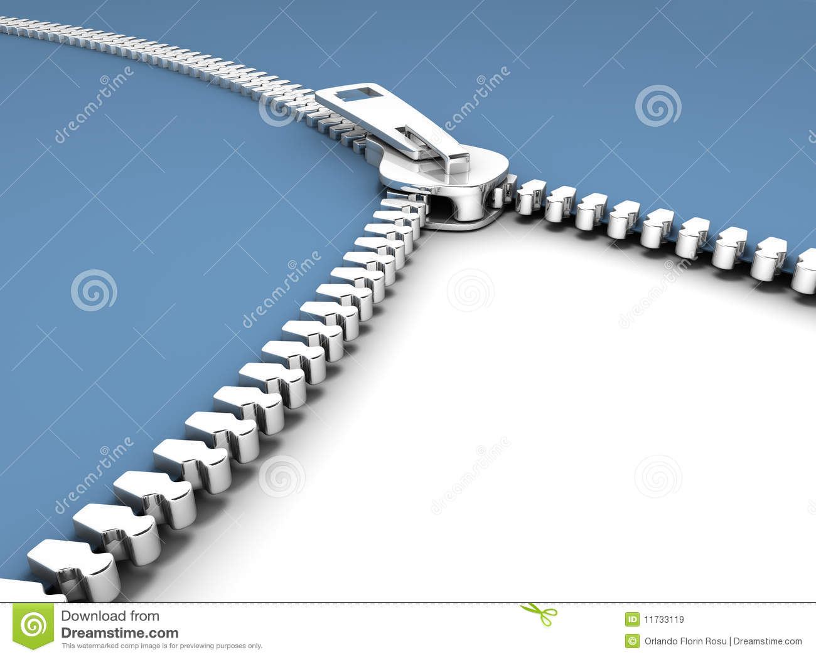 Open zipper stock illustration. Illustration of shopping ...