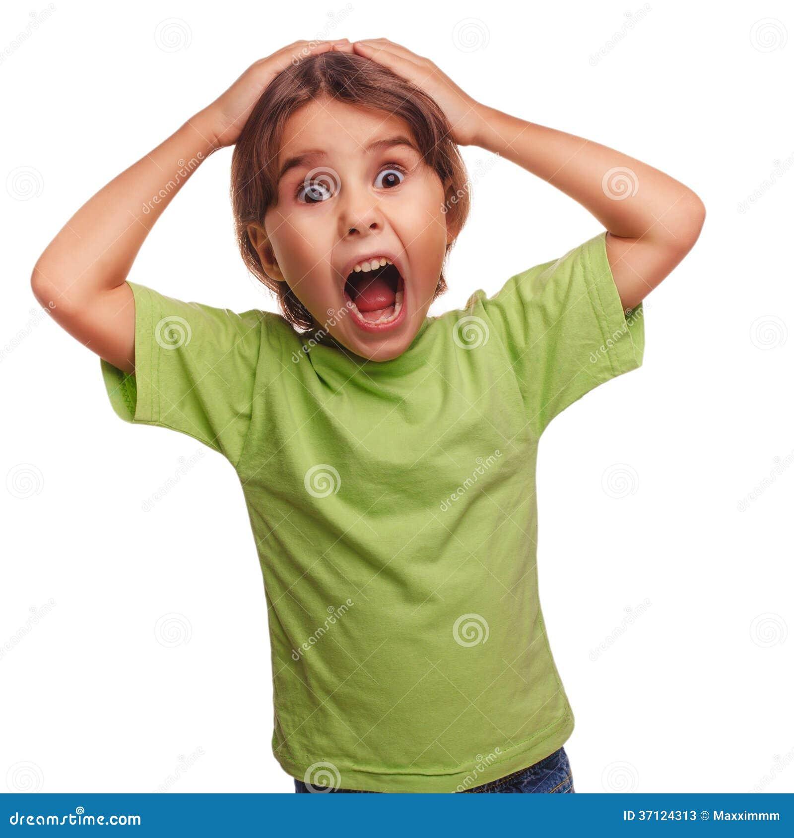Opende het tienermeisje doen schrikken kind haar vrees van mondgevoel