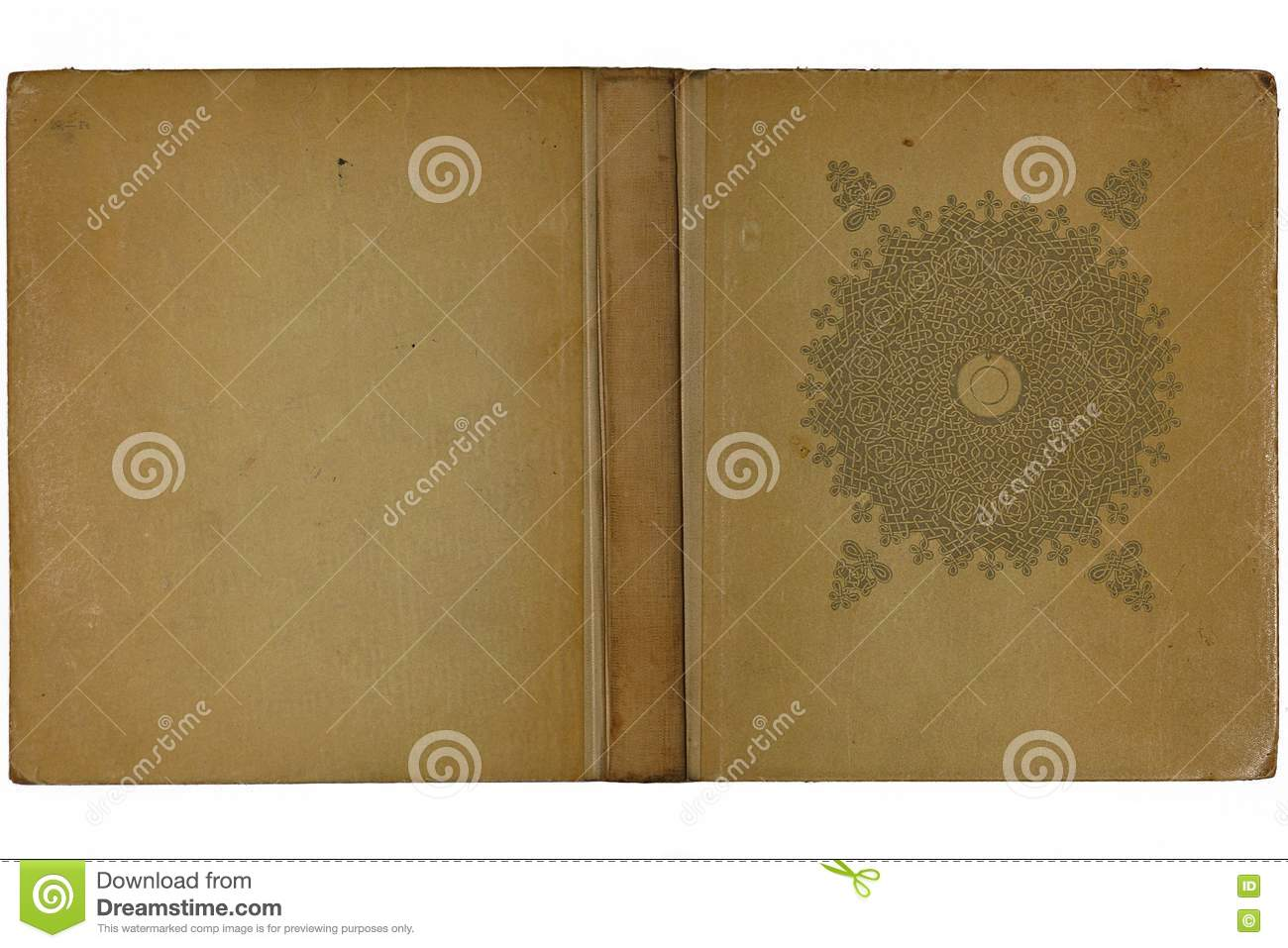 Book Cover Images Royalty Free : Opened old book cover royalty free stock images image