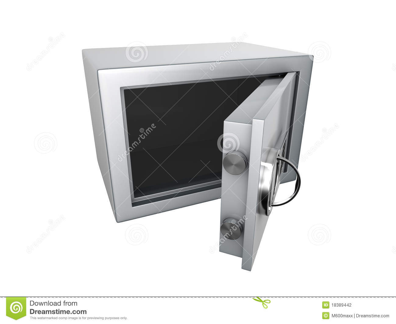 Opened Safe Stock Photography - Image: 18389442