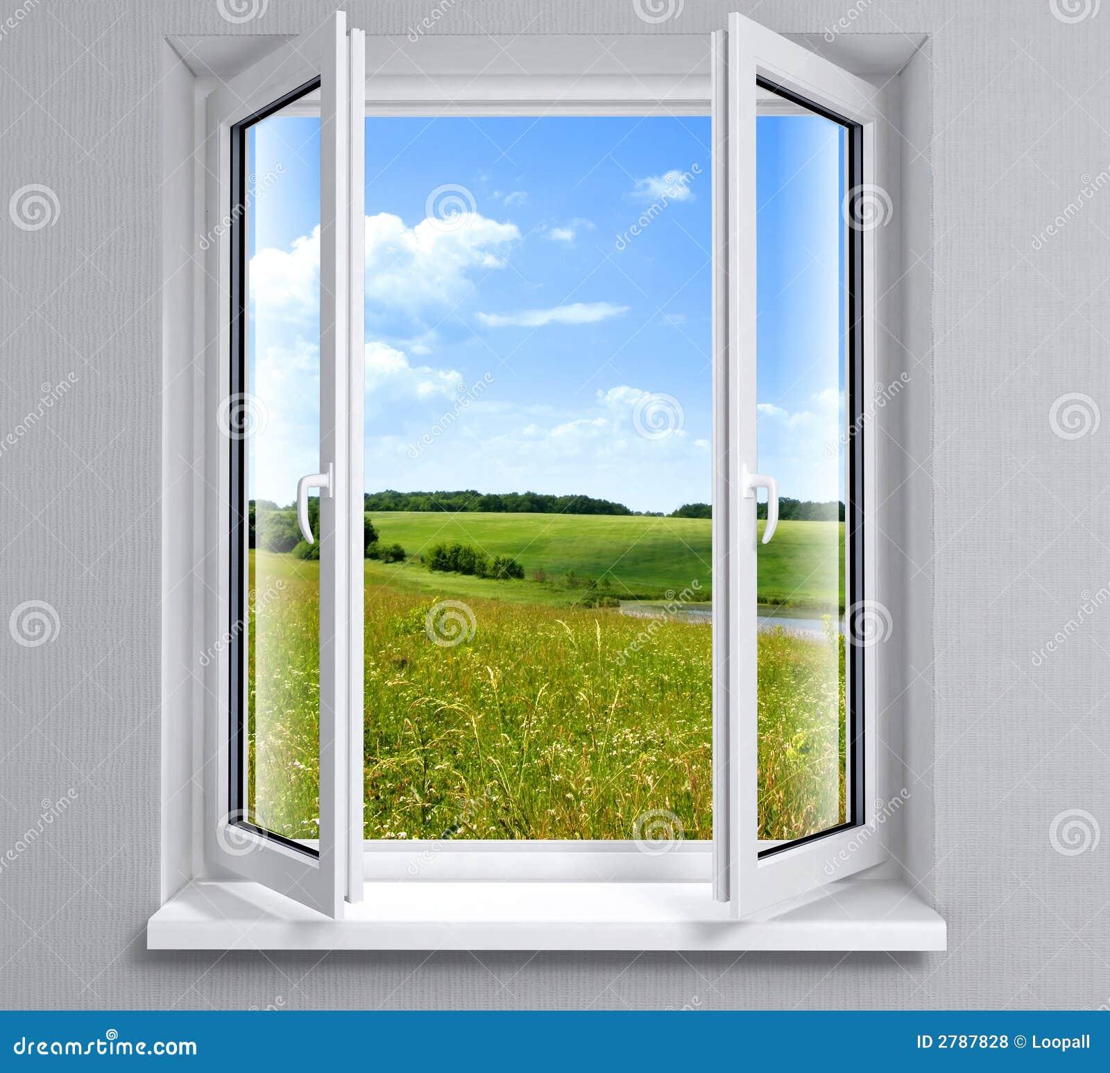 opened window stock photo image of element glass image 2787952