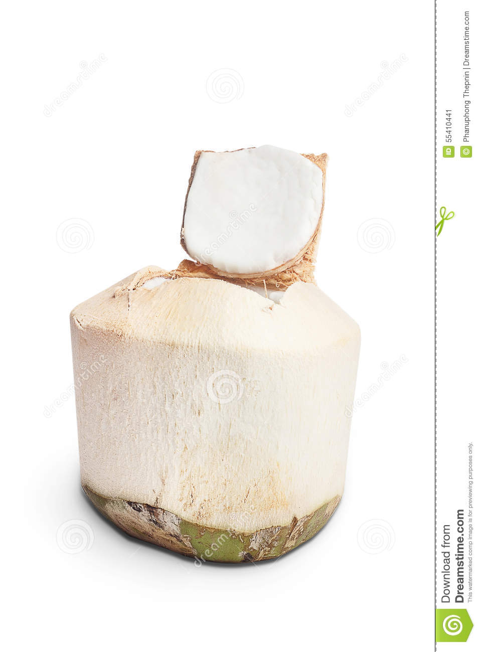 how to choose young coconut