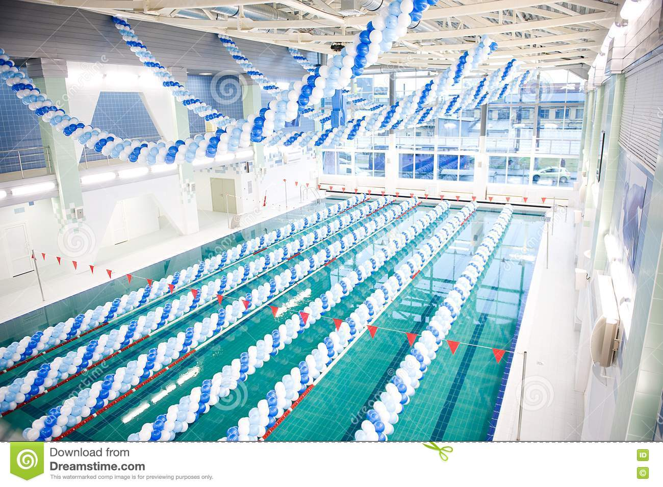 Opening Of A Swimmingpool Stock Photos Image 15922403