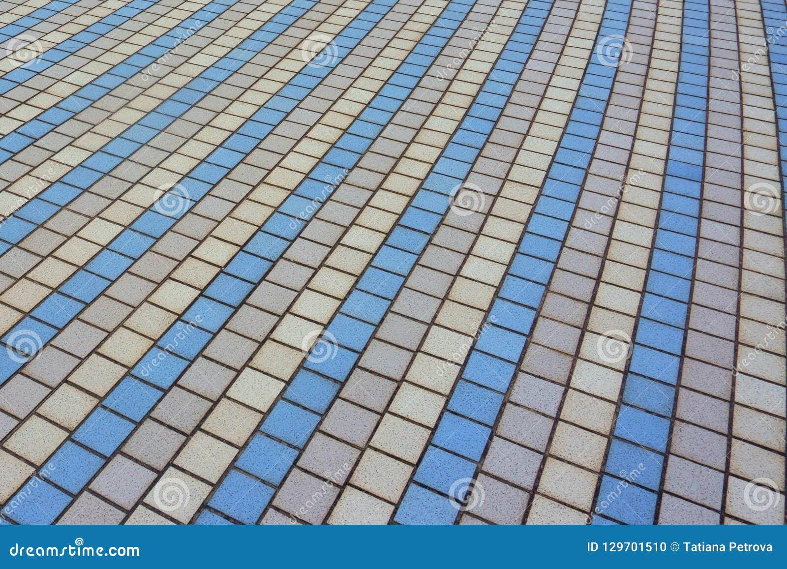 Openlucht multi-colored vloertegels
