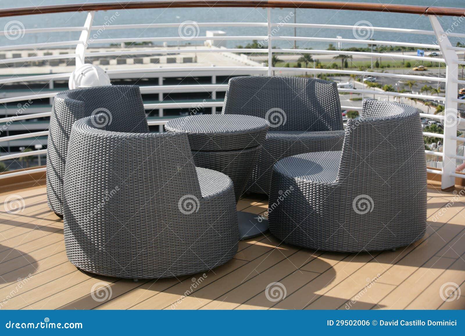 Openlucht stoelen