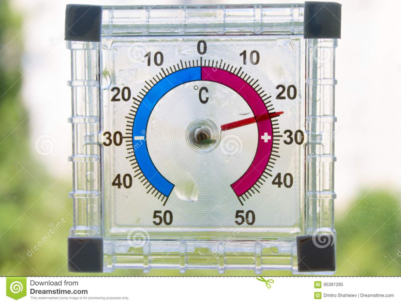 Openlucht Thermometer