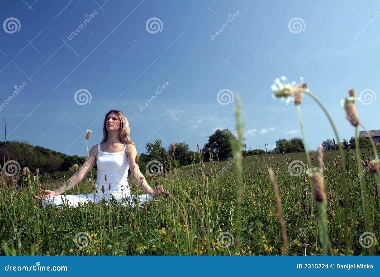 Openlucht yoga