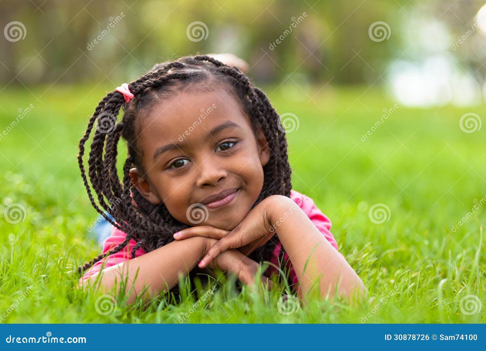 pic van zwart meisje