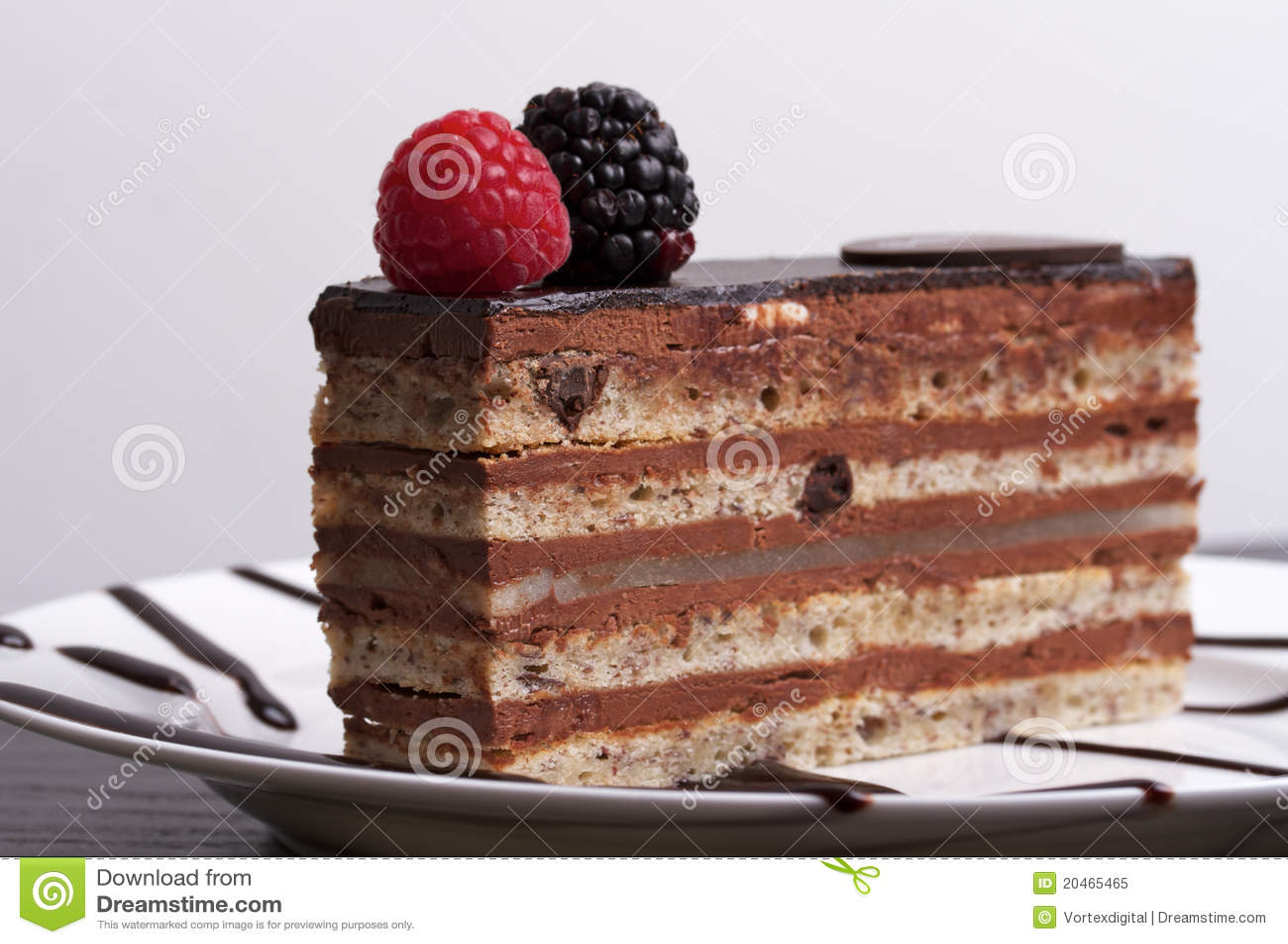Blackberry And White Chocolate Layer Cake Recipe — Dishmaps