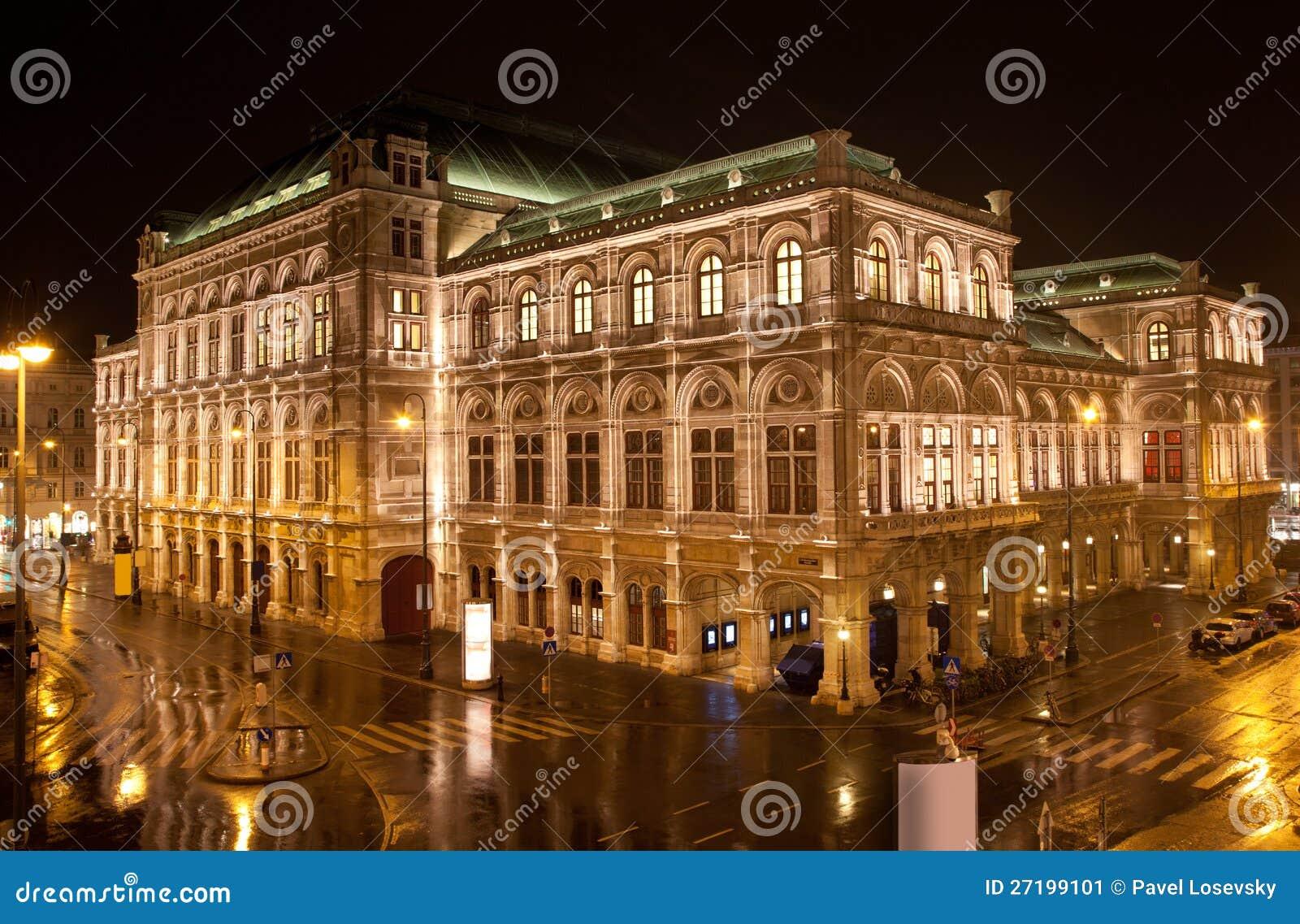 Opera della condizione di Vienna nella notte