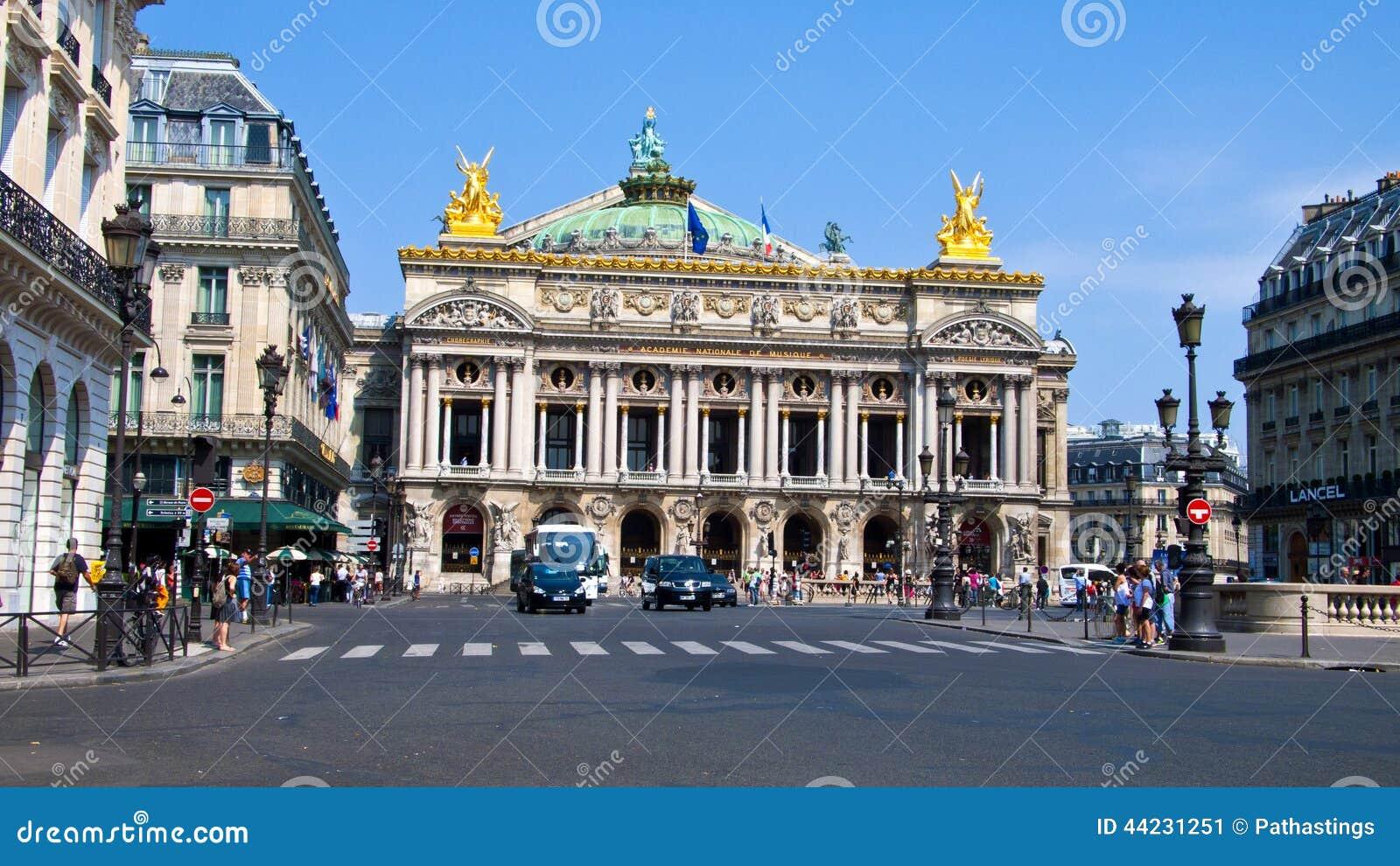 opera garnier paris france editorial photo image of locations urban 44231251. Black Bedroom Furniture Sets. Home Design Ideas