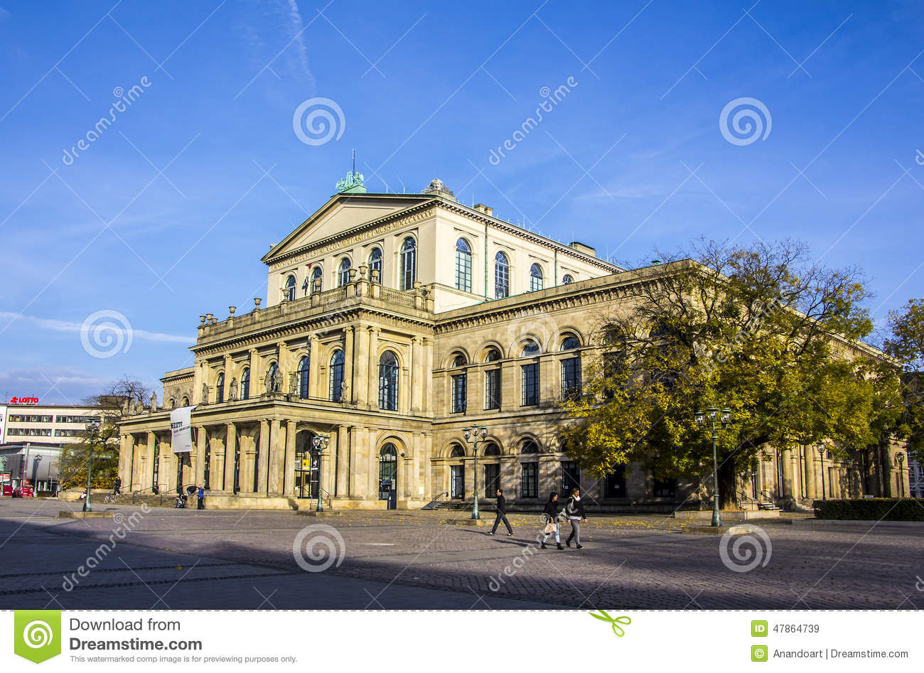 Opera house hanover germany editorial stock image for The hanover house